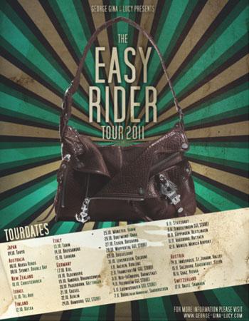 325f3043d5bee GEORGE GINA   LUCY – Eine Tasche geht auf Tour! Easy-Rider ...